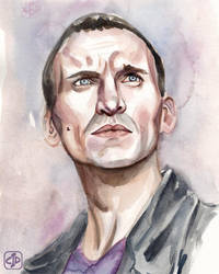 Ninth Doctor by TheDaileyDoodle