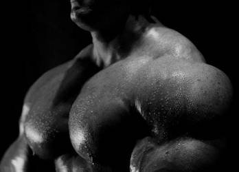 Muscle Close-Up by n-o-n-a-m-e