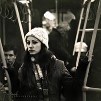 in train by nowaryesblack