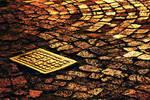 Golden paving by linda-Bee