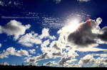 Cloudiness by linda-Bee