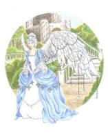 December Birthstone Angel by JessicaMDouglas