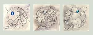 Zodiac 4 of 4 by JessicaMDouglas