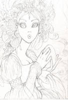 Odette sketch by JessicaMDouglas