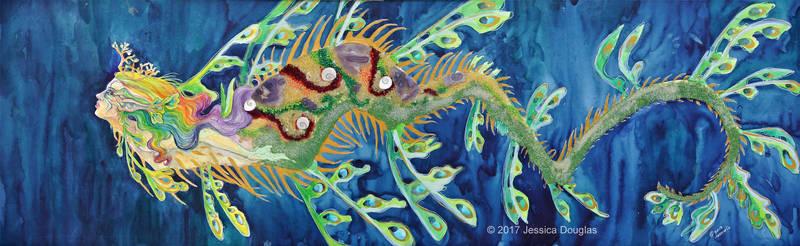 Shannon's mermaid by JessicaMDouglas
