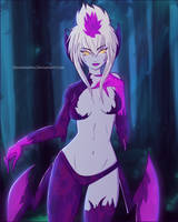 Evelynn - League Of Legends by Doominatrix