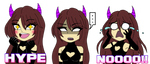 Twitch Emotes by Doominatrix