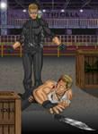 Wesker Vs Shane by wondermanrules
