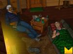 Awakening in the Cabin by wondermanrules