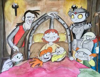 Origin of Lizbeth part 40 by exkhale