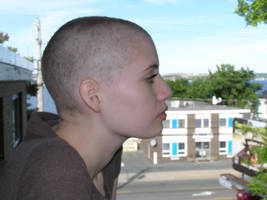 Pam: Bald and on the deck 3 by LeithDoan