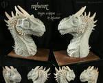 Rothwart the Dragon Sculpture by Kalasinar
