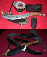 Elven Hunting Knife by Kalasinar