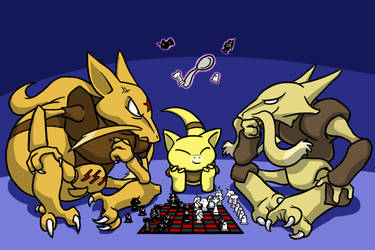 The Abra Family by Zerochan923600