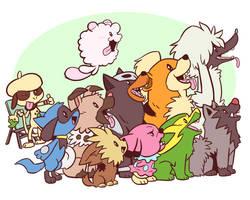 Puppies by Zerochan923600