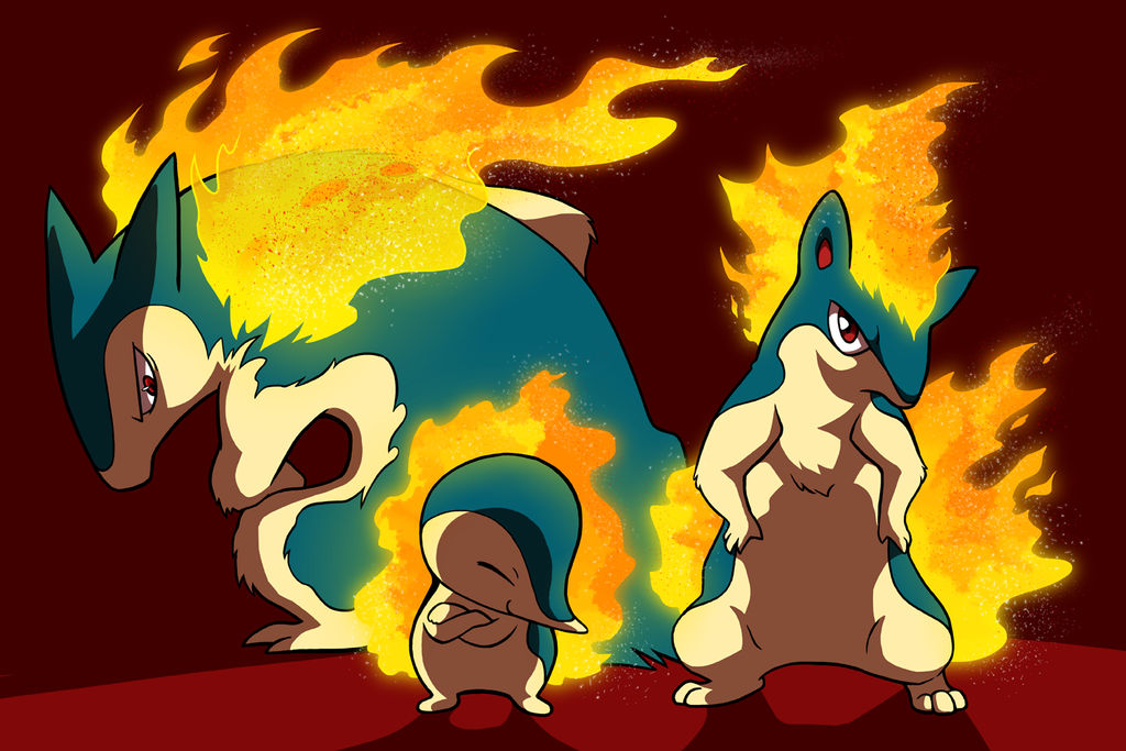 The Cyndaquil Family by Zerochan923600