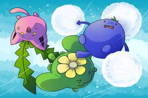 The Hoppip Family by Zerochan923600