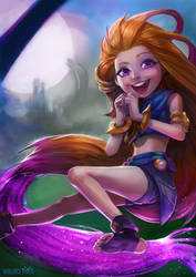 Zoe - League of Legends by SatsuiNoHado
