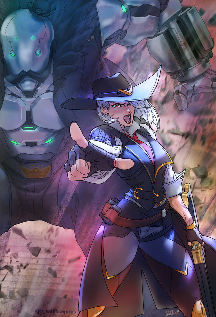 Ashe - Overwatch by SatsuiNoHado