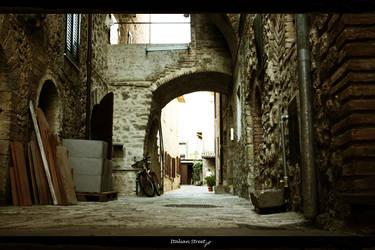 Italian Street by Sangiev