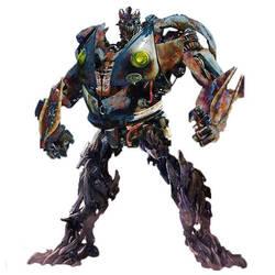 Transformers TLK Hooligan Robot Mode (fanmade) by Demotan