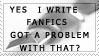 I write by Kansani