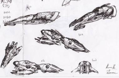 Anti-gravity Ships by Glyphex