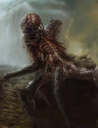 Zombie Robot by Glyphex