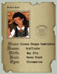 Aiyana Dumbledore School Id by latane4
