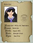 Aki Dumbledore School ID by latane4