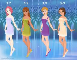 Models 16-20 by msbrit90