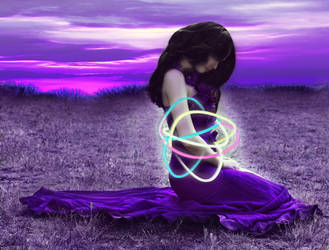 Purple by willowdiamond