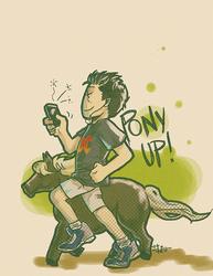 PONY UP by thenizu