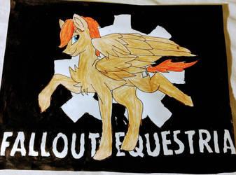argodaemon fallout Equestria by moonshadowluna