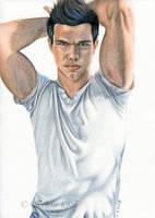 Taylor Lautner -Jacob- by Delinlea