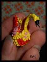 -Tiny- Swan II by Delinlea
