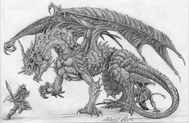 Dragon's precious by RaXt0r