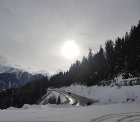 Winter Road by x--BloodyRose--x