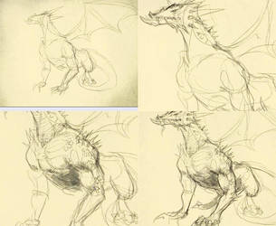 How-to-draw-dragon-2 by ThousandWordsToSay