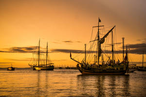 At the port by HendrikMandla