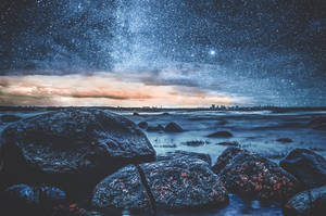Night under the stars by HendrikMandla