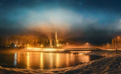 Mist and light by HendrikMandla