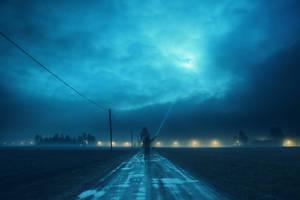 Catching moonlight by HendrikMandla