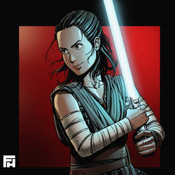 Rey - Color test by Fredhild