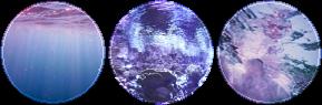 lavander underwater circle divider by cal-vain