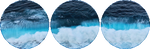 blue seas circle divider by cal-vain