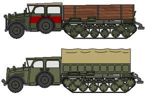 Maradi Motors 4 Ton Halftrack conversion by CommodoreHorton