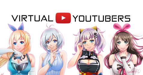 Virtual Youtubers by koalasmarch27