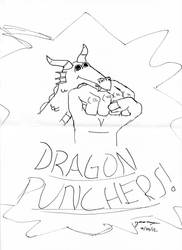The Dragon Punchers! by Freelancer521