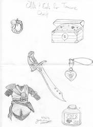Assorted Treasure #1 by Freelancer521